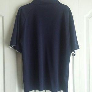 0a662f35 Mens Dallas Cowboys Authentic Polo Golf Shirt Sz L